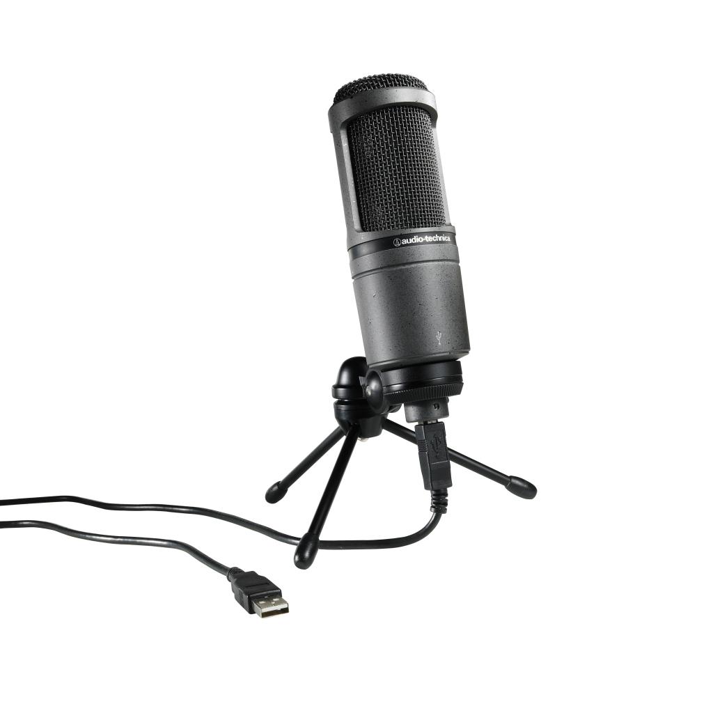 Audio-Technica AT2020 Studio Condenser USB Microphone