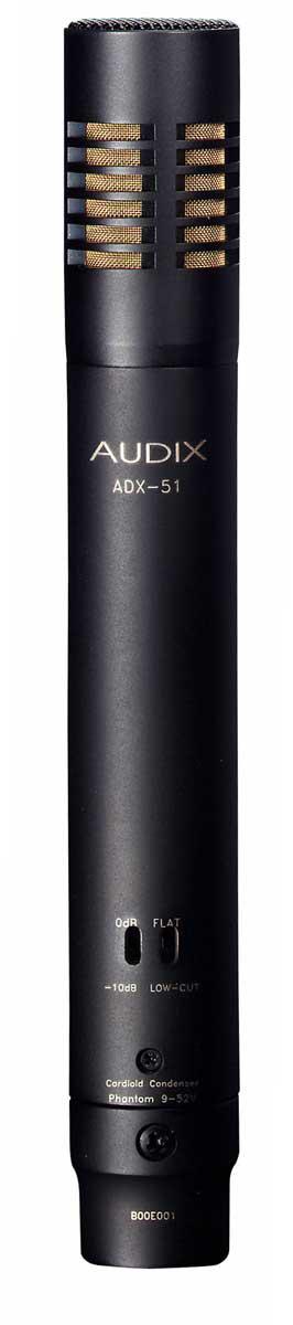 Audix ADX51 Studio Condenser Mic for Overheads, Cymbals, Hi-Hats