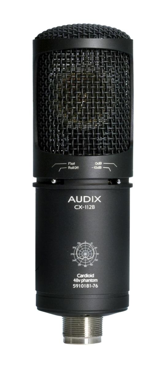 Audix CX112B Large-Diaphragm Studio Condenser Microphone