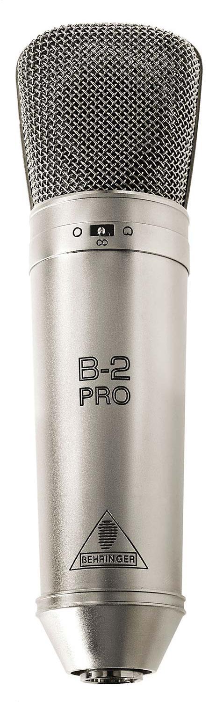 Behringer B-2 Studio Condenser Microphone with Shockmount