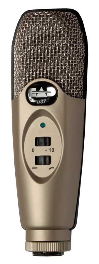 CAD U37 USB Studio Condenser Microphone