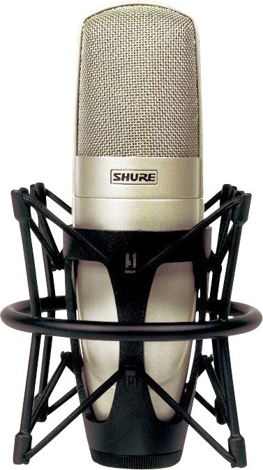 Shure KSM32 Studio Condenser Microphone Champagne