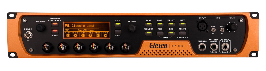 Avid Eleven Rack Guitar Recording and Effects Audio Interface