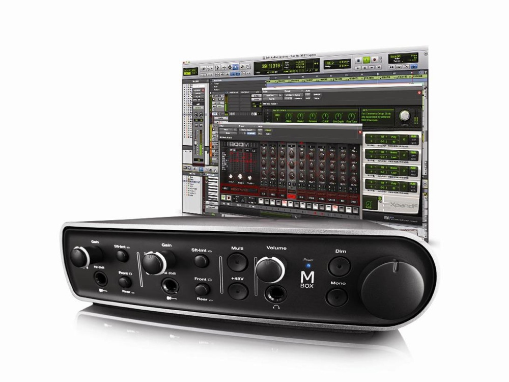 Avid Pro Tools Mbox USB Audio Interface with Pro Tools Express