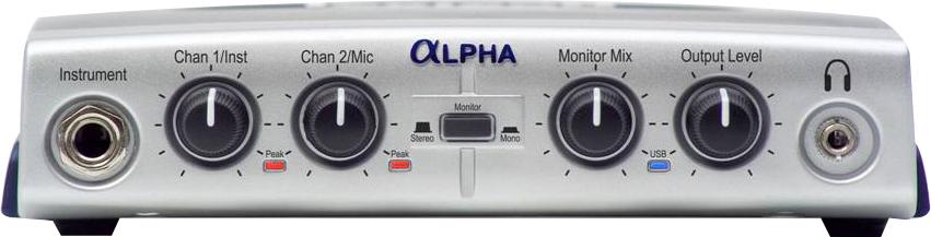 Lexicon Alpha Desktop Recording Studio USB Audio Interface
