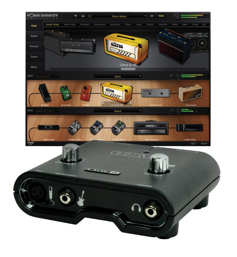 Line 6 POD Studio UX1 USB Interface