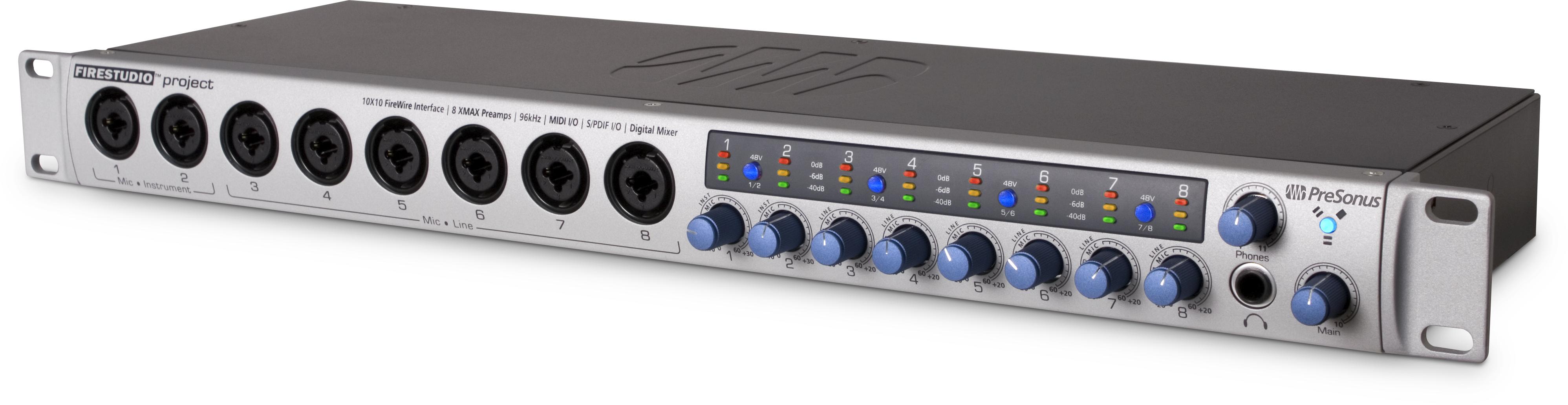 PreSonus FireStudio Project Audio Interface, FireWire