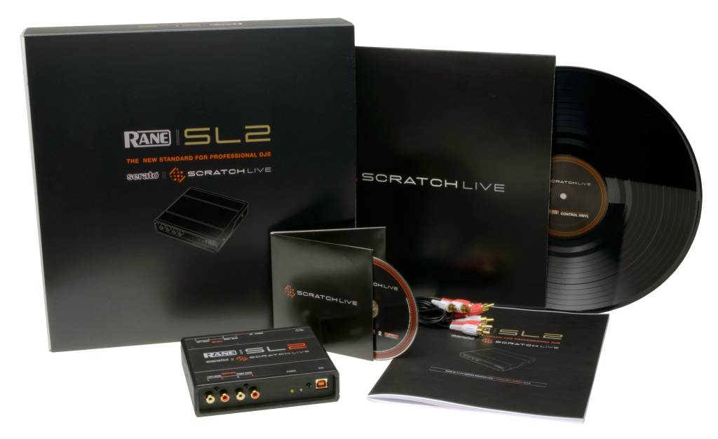 Rane Serato SL2 Scratch Live DJ Audio Interface