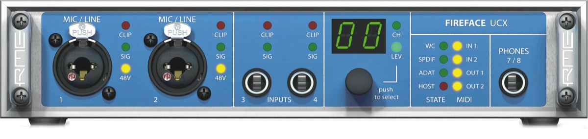 RME Fireface UCX 36-Channel USB and FireWire Audio Interface