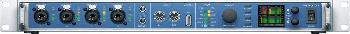 RME Fireface UFX 60-Channel USB and FireWire Audio Interface
