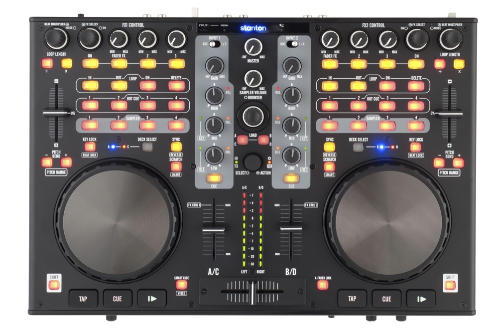 Stanton DJC.4 DJ Controller and Audio Interface