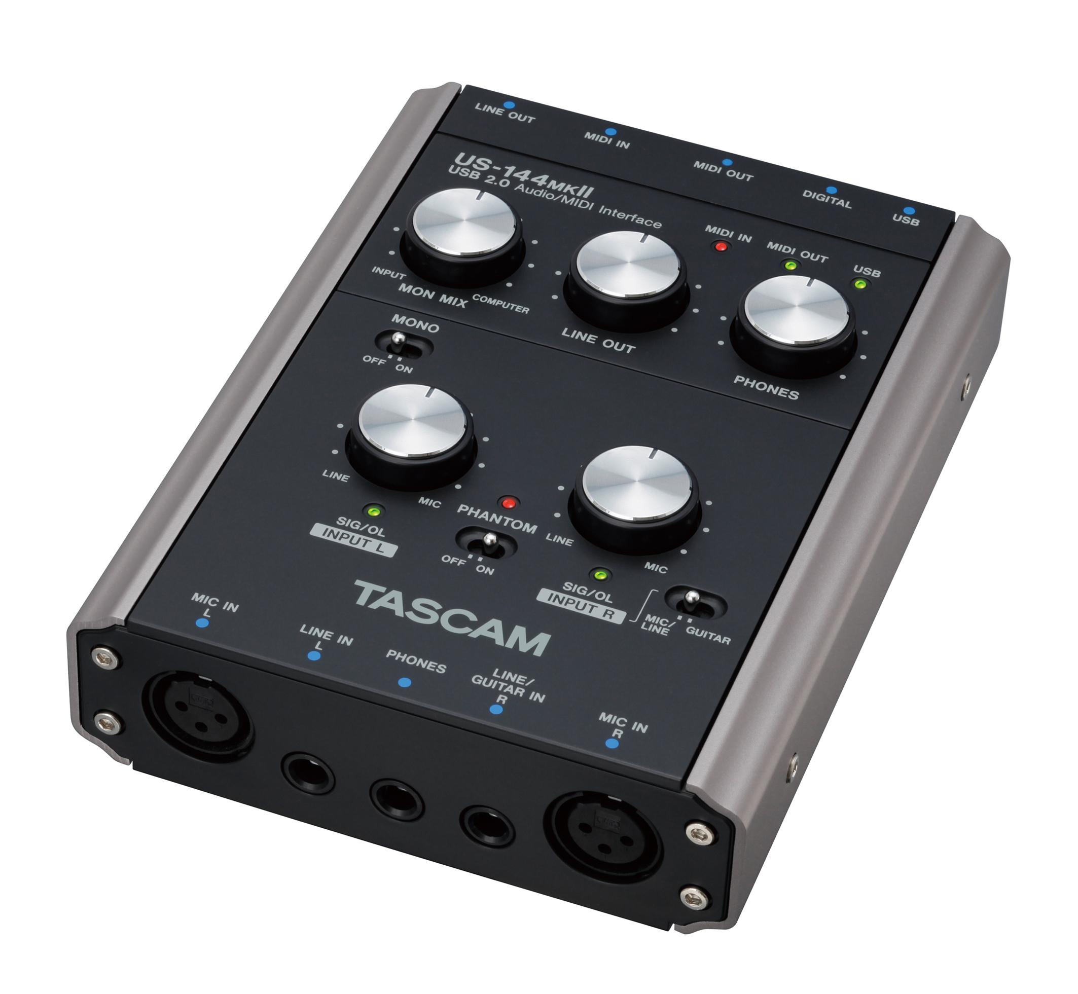 Tascam US-144 MkII Audio Interface, USB 2.0
