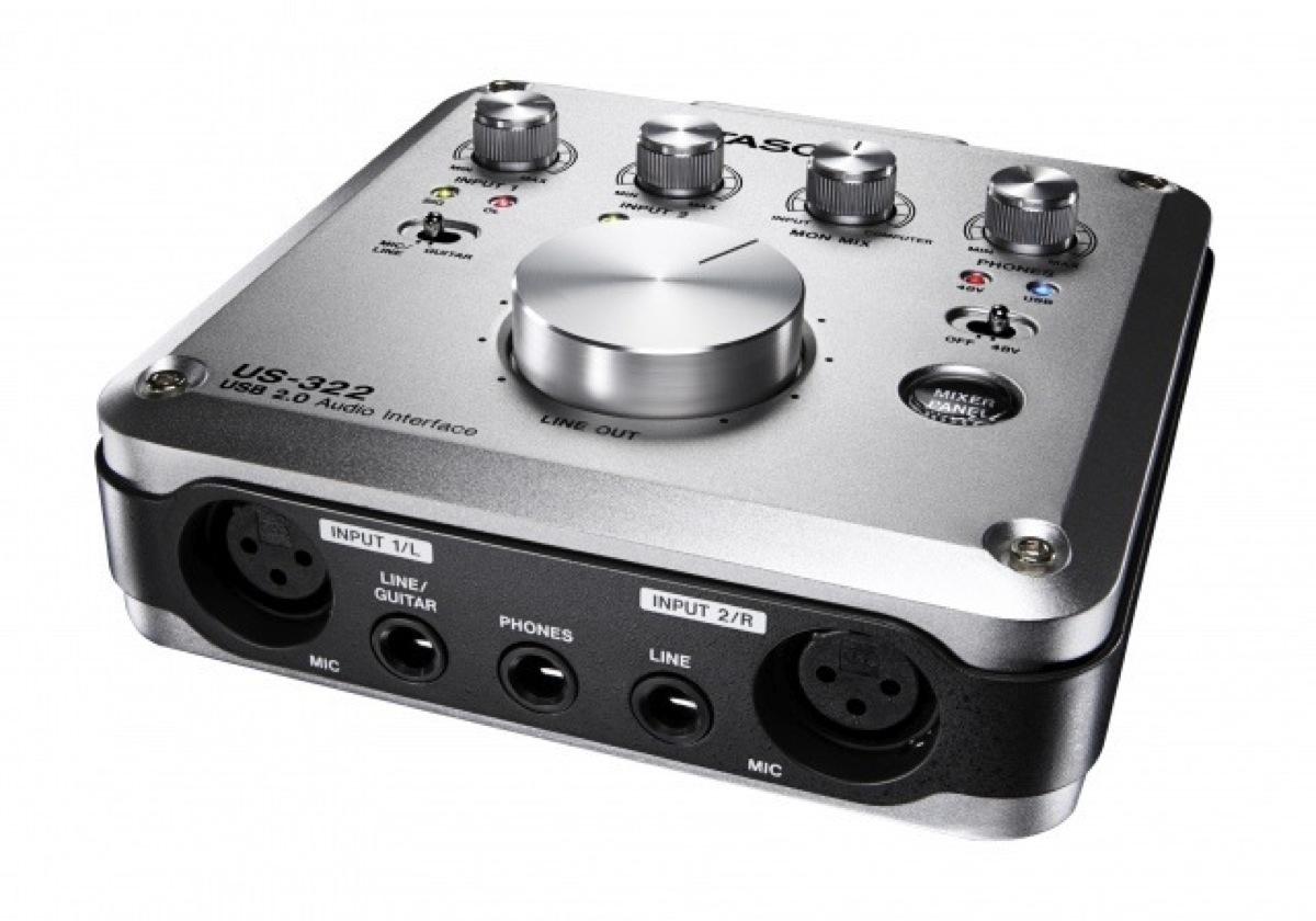 Tascam US-322 USB Audio and MIDI Interface