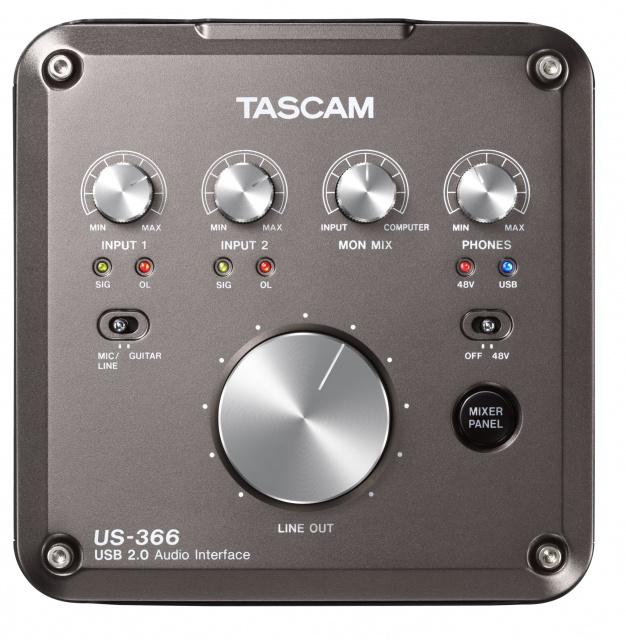 Tascam US-366 USB Audio and MIDI Interface