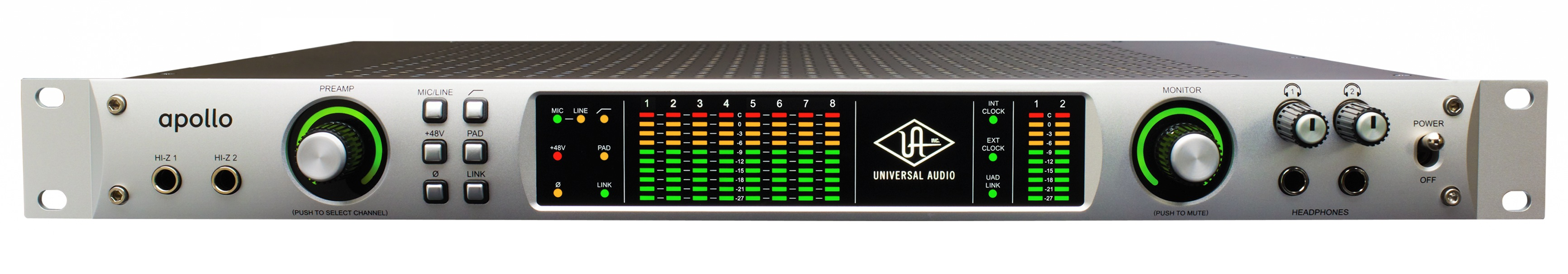 Universal Audio Apollo Duo FireWire Audio Interface with DSP